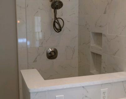 Work Portfolio- Carrera Marble Shower