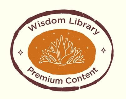 Wisdom Library Mission Member Logo