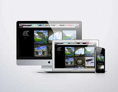Portfolio Site of Lance Rousseau: Redesign
