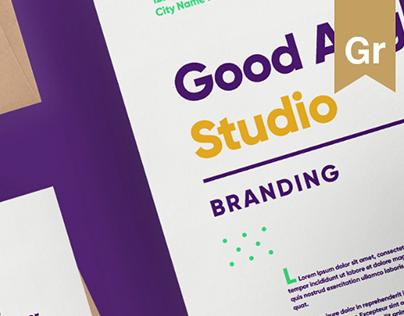 Good Angle photo studio branding