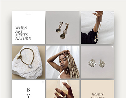 Social Media Content Creation - Jewelry Brand