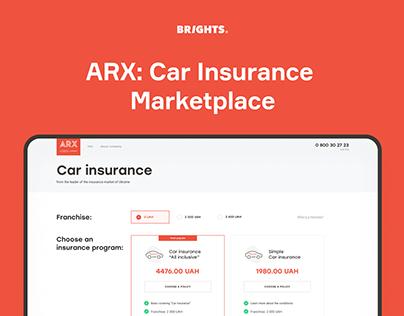 ARX: Car insurance marketplace