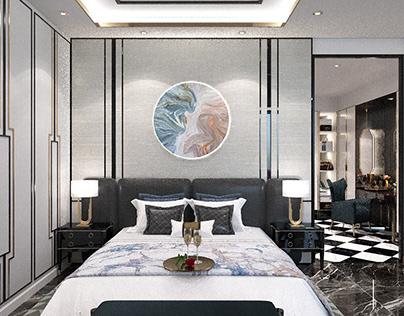 Master bedroom (Nha Trang villa)