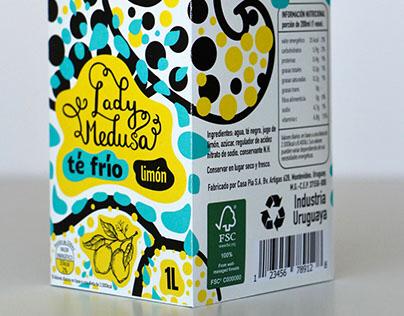 Lady Medusa. Diseño de empaque.