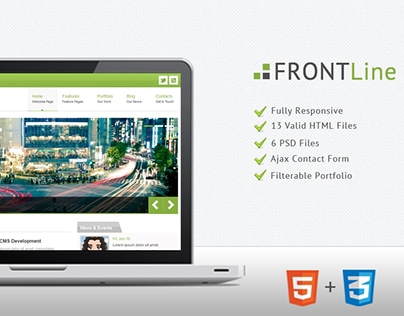 Frontline – Responsive HTML Template