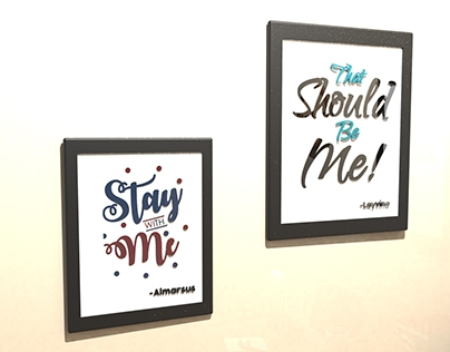 3D Hand Lettering
