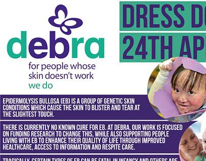DEBRA Charity Posters