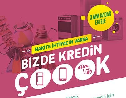 TEB - BİZDE KREDİN ÇOOOK / Masaüstü filmler