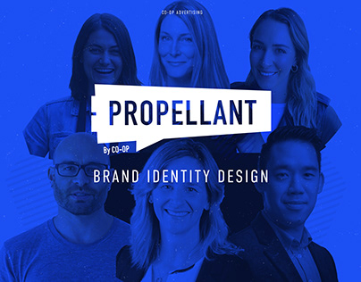 Propellant Brand Identity and Logo