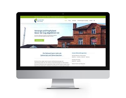 Webdesign / Webseite - Praxis Dr. Felix Handy