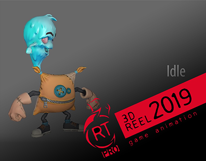 3D Game Animation Reel 2019