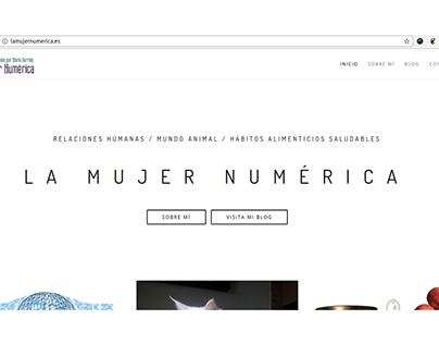 Blog La Mujer Numérica