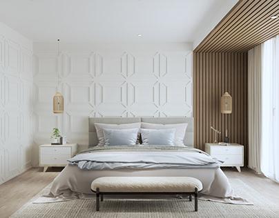 Beach Villa Masterbedroom Design