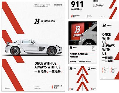 JB AUTO Branding