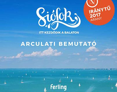 Siófok, where the Balaton begins - brand identity