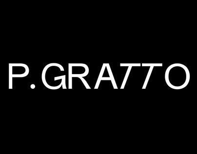 P.GRATTO TYPEFACE