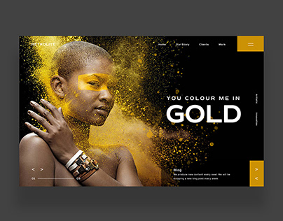 For Your Inspiration Website Ui Design Concept May 2021