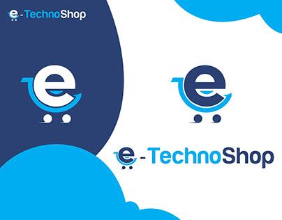 E-Commerce Logo Design (Technology Logo-Shopping Logo)