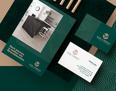 Mar de Pedras | Visual Identity