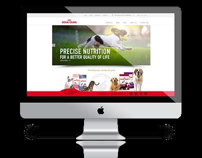 B2C/B2B Pet Food Website