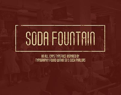 Soda Fountain (Free Typeface)
