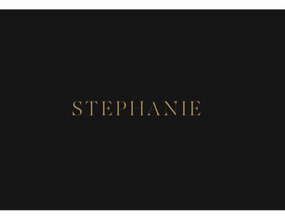 Stephanie brand design