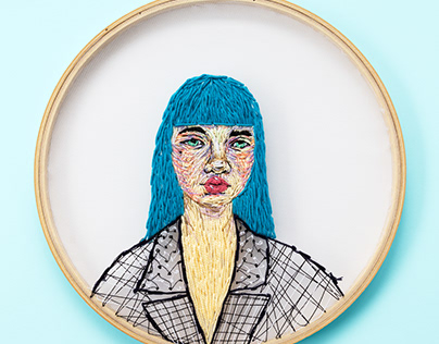 Embroidery Illustration / Placebo