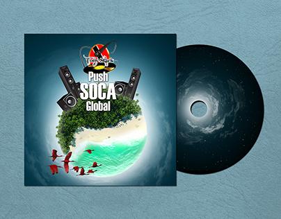 """Push Soca Global"" Mixtape Cover"