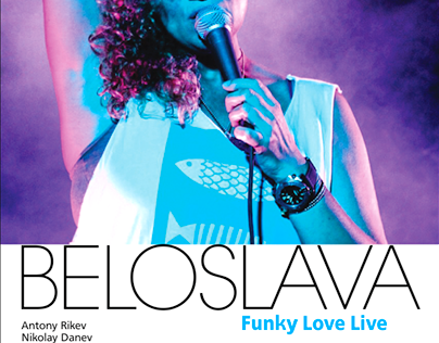Beloslava Live @Menthol | Poster & FB Event Cover