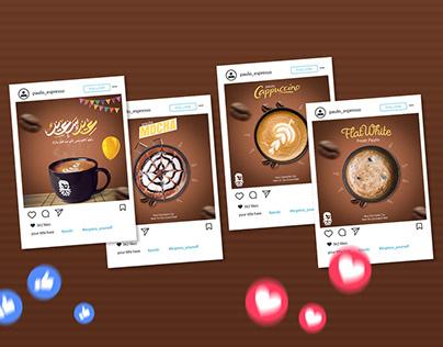 Paulo cafe social media adv