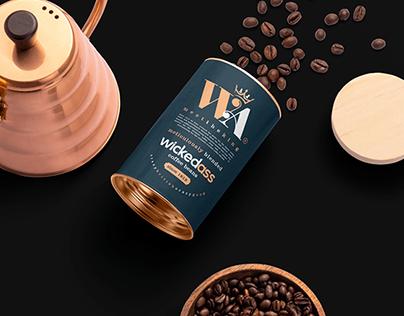 WickedAss Logo Design & Packaging Design