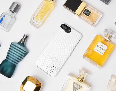 Stonework Perfume Case