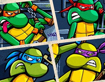 - Teenage Mutant Ninja Turtles -