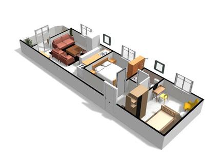 small 3D apartment in Alexandria