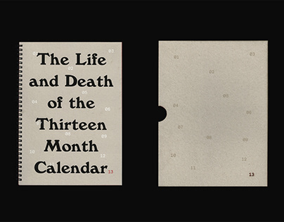 Thirteen Month Calendar – ISTD Publication