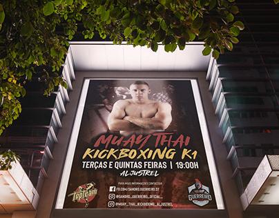 Muay thai poster aljustrel