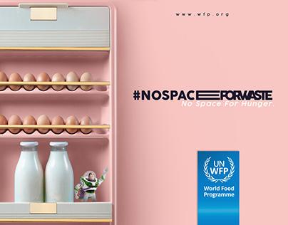 #NoSpaceForWaste
