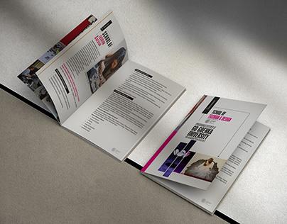 Fashion School Brochure