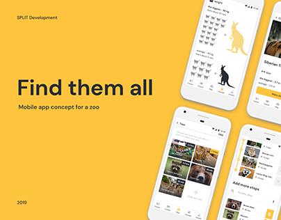 Zoo Mobile App Concept