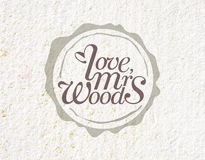 Logo Design: Love, Mrs Woods / 2015