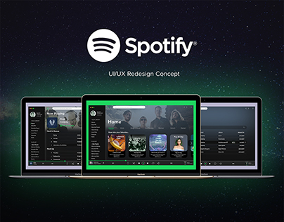 Spotify UI/UX Redesign