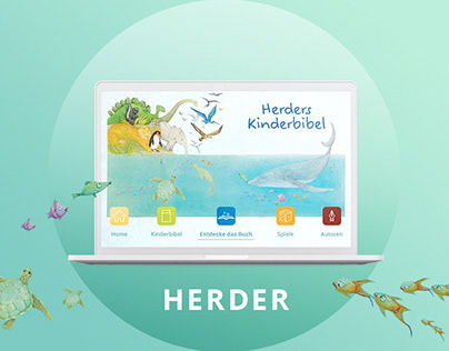 HERDER - children's bible web app