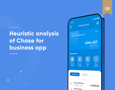 Heuristic analysis of Chase for business app