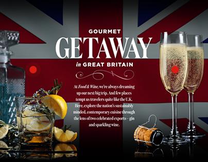 Visit Britain: Gourmet Getaway in Great Britain