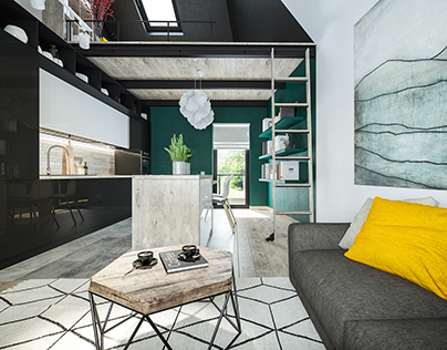 Interior design of cottage | Lviv | WhiteLineDesign
