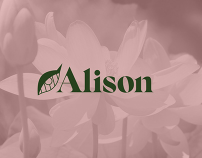 Alison Cosmetics - Brand identity design