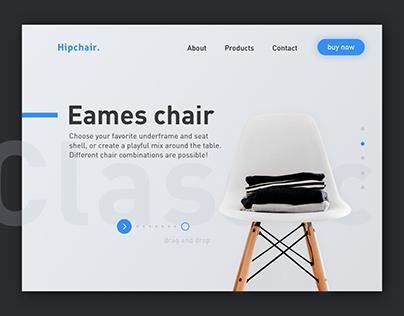 #03 Daily UI // Landing Page