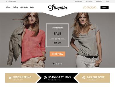 Интернет-магазин SHOPIA