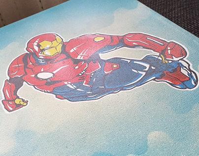 Canvas IronMan