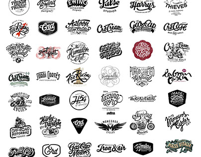 Logos compilation by Alex Ramon Mas Designs